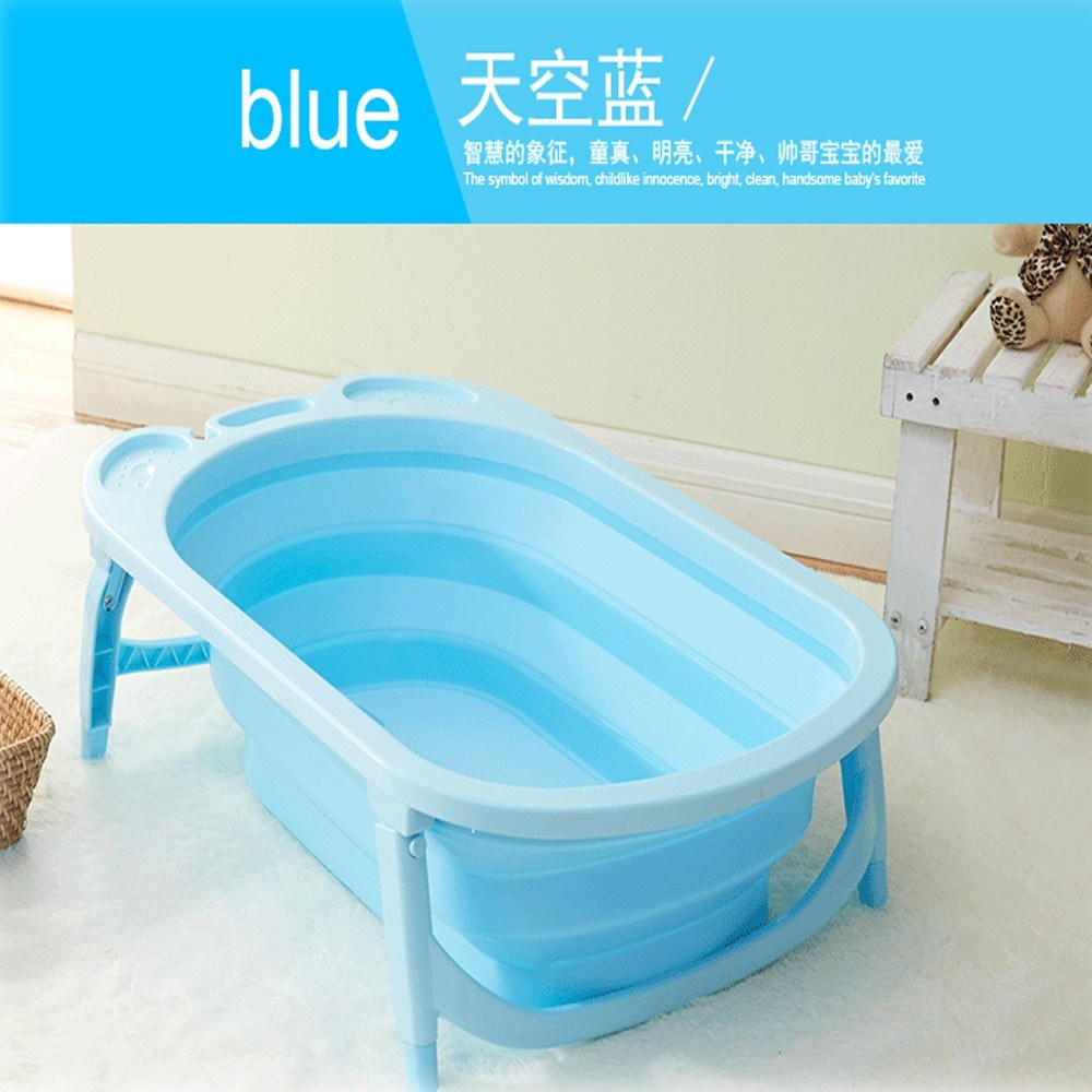 2018 New Design Baby Foldable Bathtub Plastic Inflatable Child Size ...