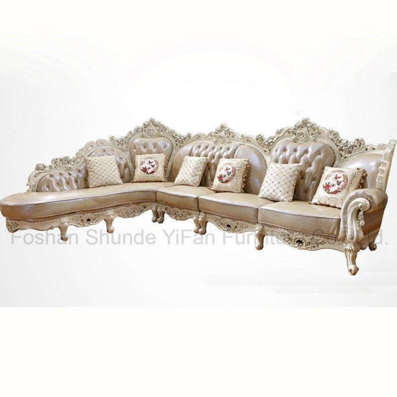 кожаный угловой диван в гостиной мебели 807a кожаный угловой