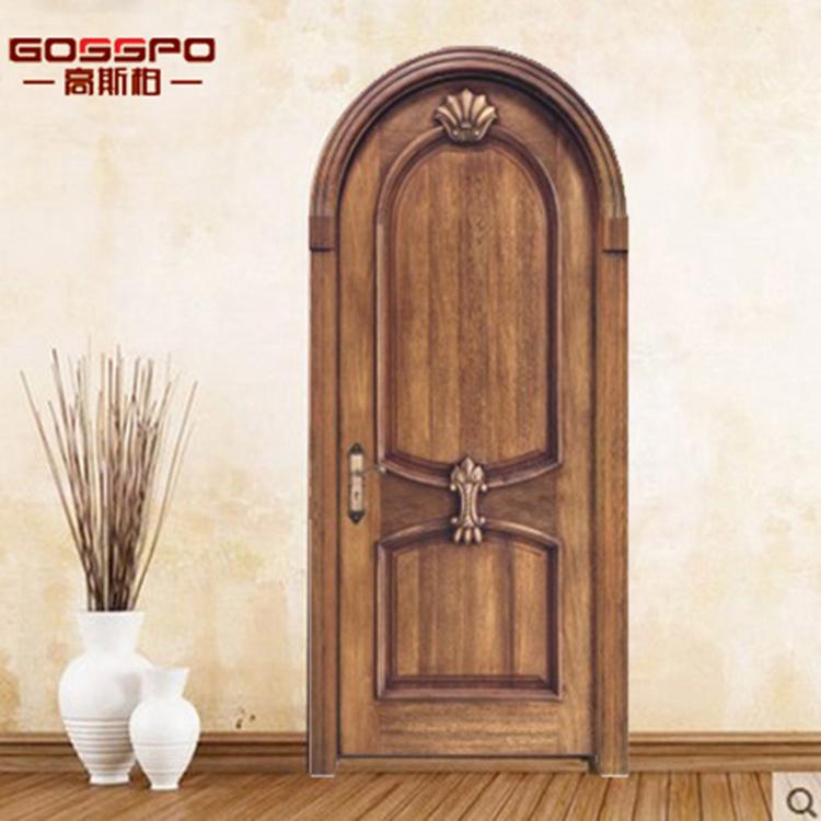 Puerta De Madera Interior Delantera De Madera Natural Para Los - Puertas-madera-interiores