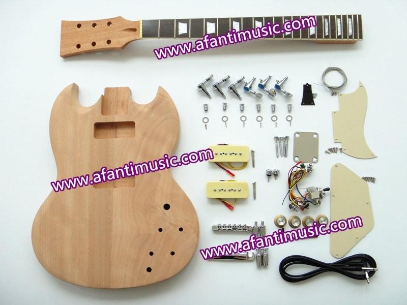 [Hot Item] Afanti Music / Sg DIY Electric Guitar Kit / Electric Guitar  (ASG-818K)