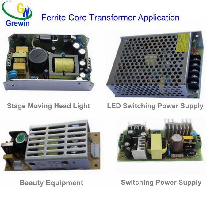 Pq Er Ee Etd EPC RM Electronic Magnetic Transformer with Ferrite Core