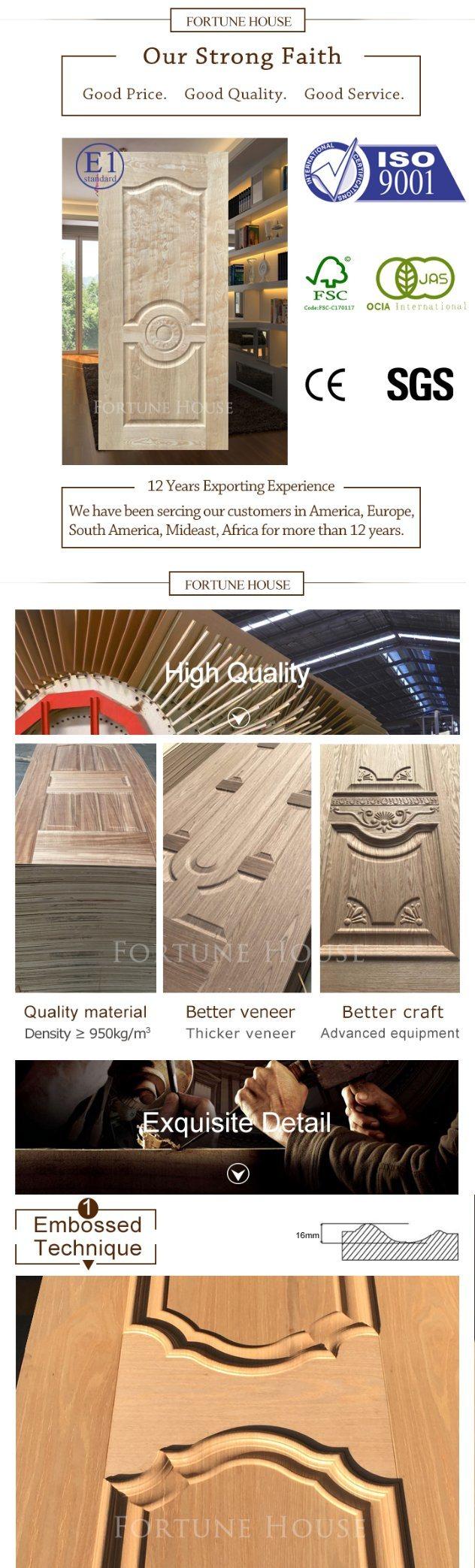 Wood Doorveneer Doorinterior Door With Cherry Door Skin China