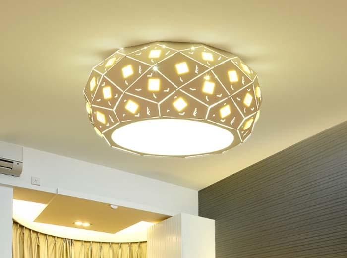 lumi re de lampe de plafond led de mode moderne pour chambre coucher lumi re de lampe de. Black Bedroom Furniture Sets. Home Design Ideas