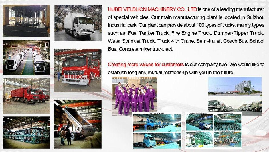 China 4X2 LHD 5000L Water Tanker Pto Fire Truck