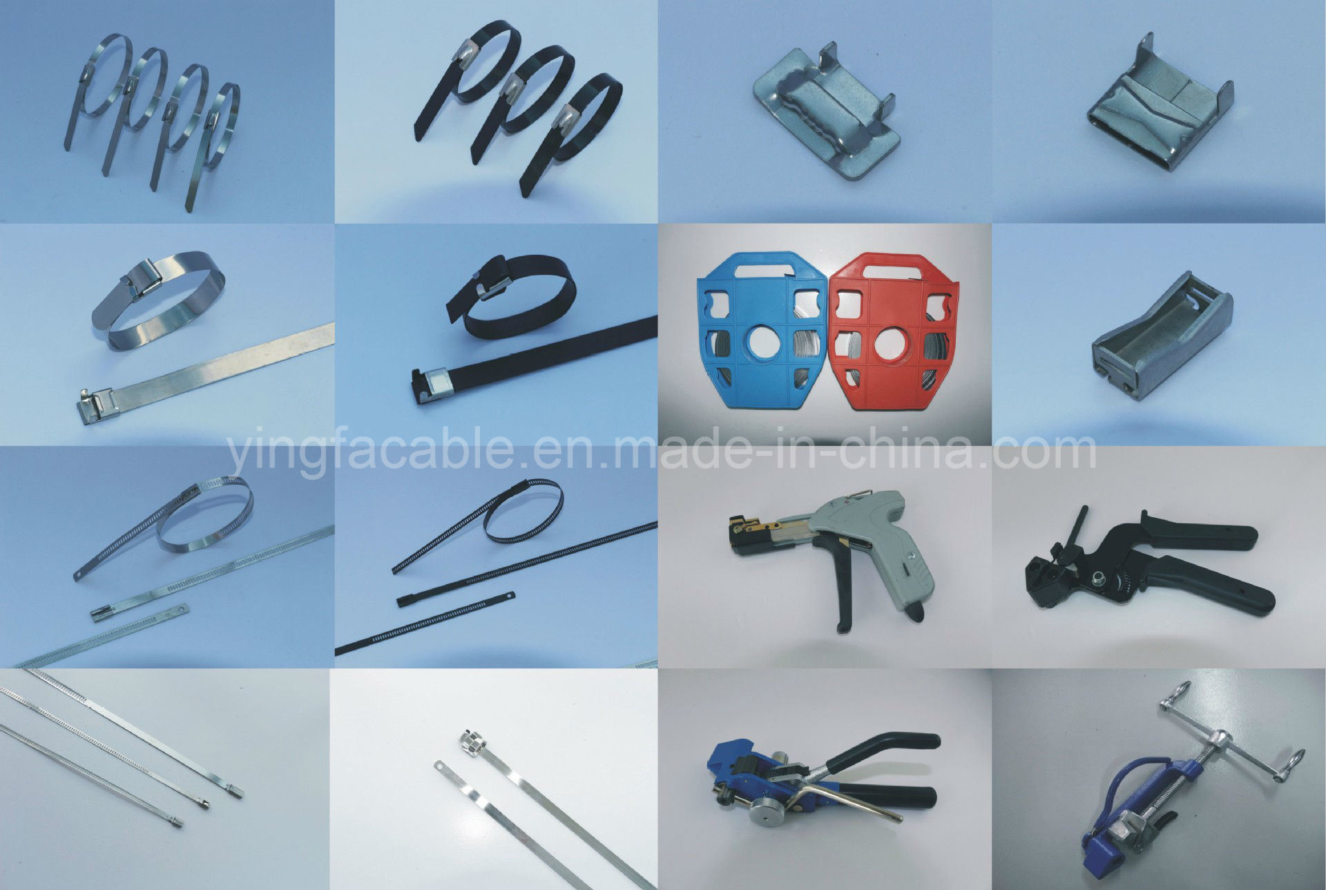 Cable Tie PVC Coated Black Coating stainless Steel 304 Grade - China ...