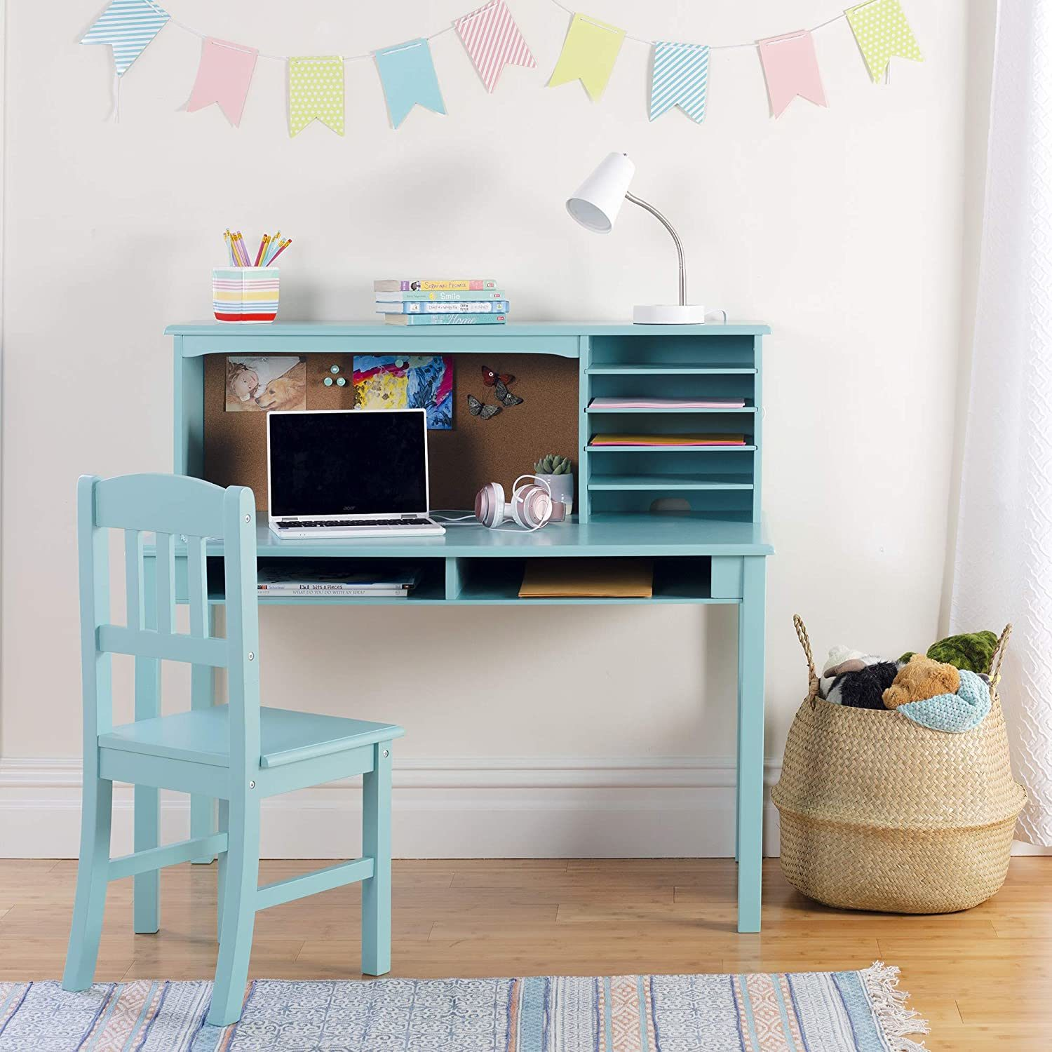 Children S Media Desk And Chair Set Student S Study Computer Workstation Wooden Kids Bedroom Furniture China Preschool Table Wooden Preschool Table Made In China Com