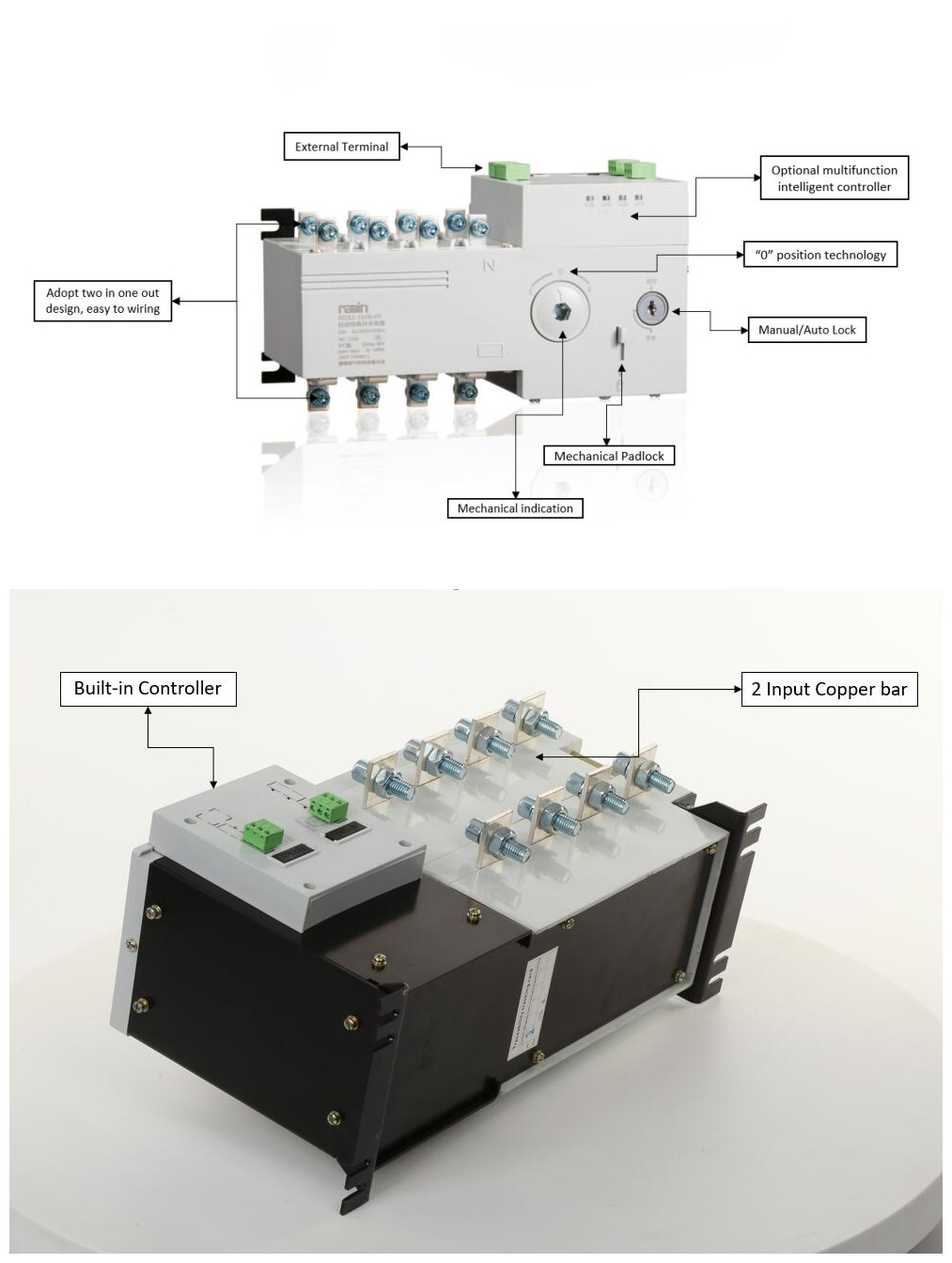 Cutler Hammer Automatic Transfer Switch Wiring Diagram from image.made-in-china.com