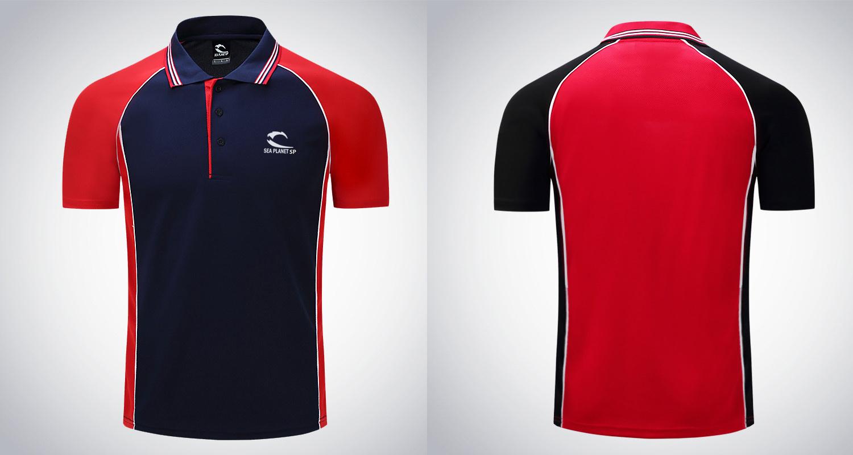 Custom Polo Shirt Casual Polo Tee Shirt Tops High Quality Polyester