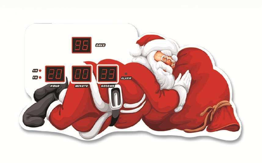Christmas Countdown Alarm Clock China Led Digital Clock And Countdown Clock Price Made In China Com