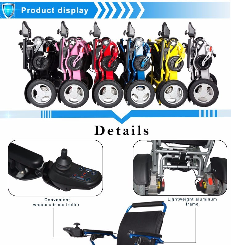 Peque o tama o de la plegable silla de ruedas el ctrica wholesale peque o tama o de la - Tamano silla de ruedas ...
