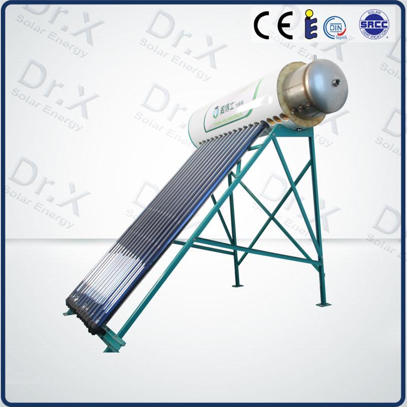 Riscaldatore di acqua calda solare pressurizzato compatto for Isolamento del tubo di rame dell acqua calda