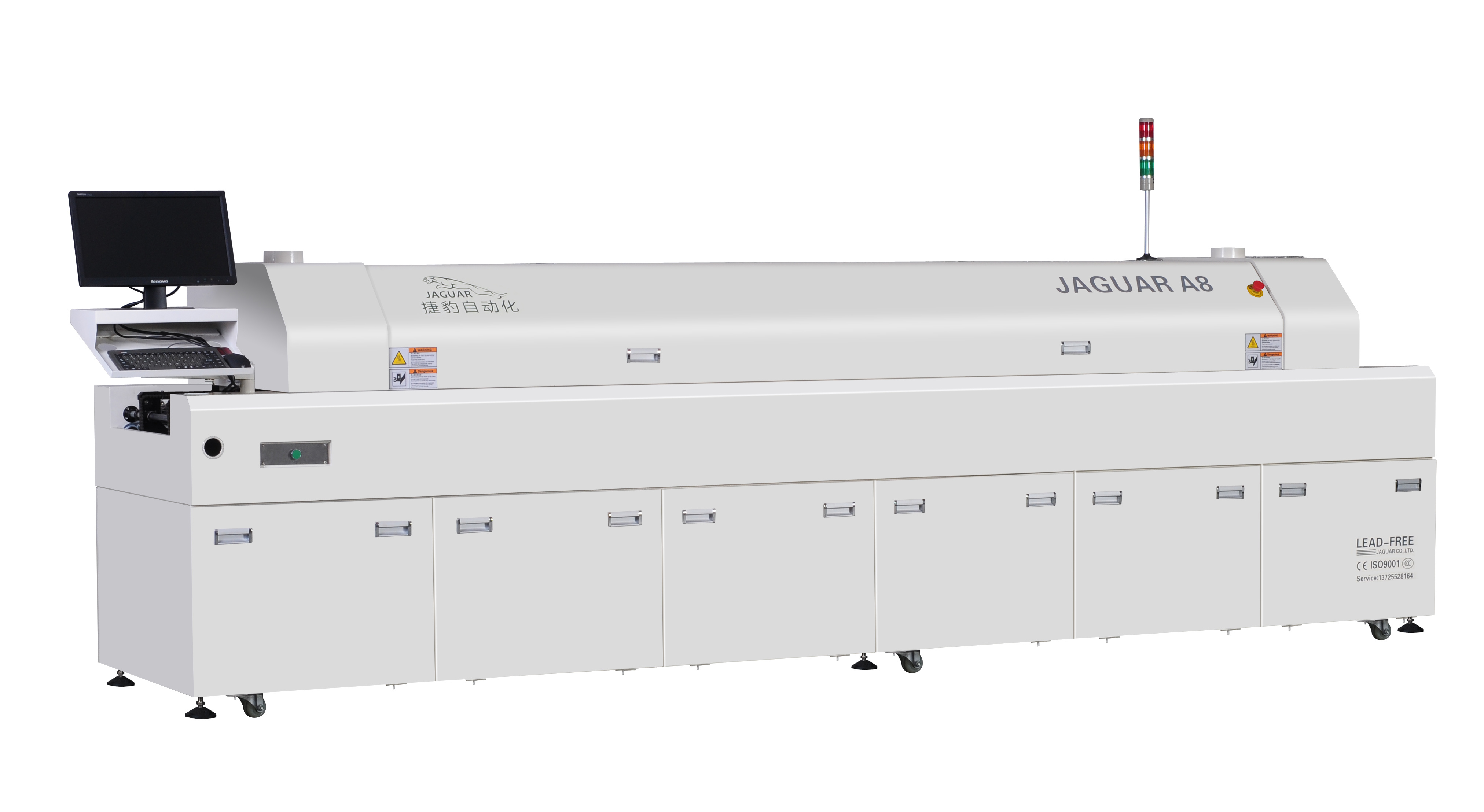 Jaguar A8 Lead Free Reflow Oven for LED Production Line - China Reflow Oven,  Good Selling SMD Reflow Oven | Made-in-China.com