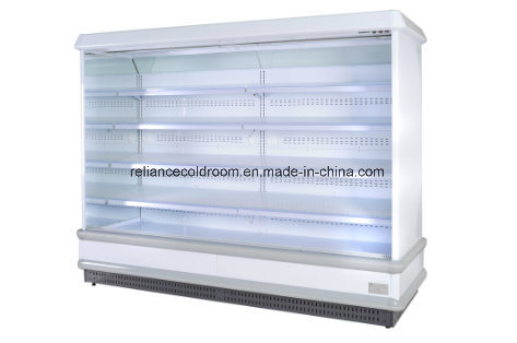 Slim Display Refrigerator Showcase for Supermarket