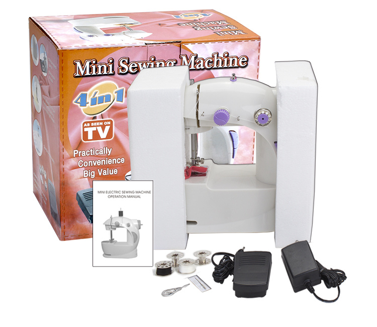 Mini machine coudre lectrique pour homeuse mini for Machine a coudre walmart