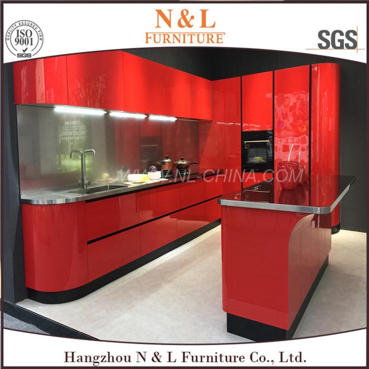 Modular de acero inoxidable Muebles de cocina armario de cocina al ...