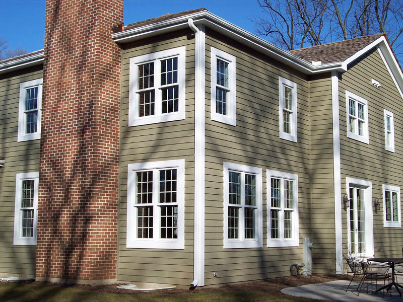 American Extrusion Vertical Sliding Double Single Glass Hung Sash Window
