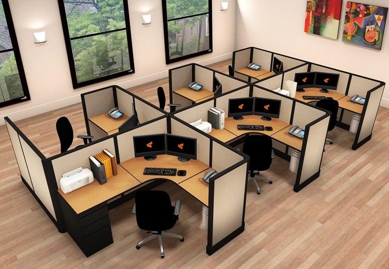 Metri Quadri Ufficio Persona : Scrittorio del personale della melammina delle persone tabella