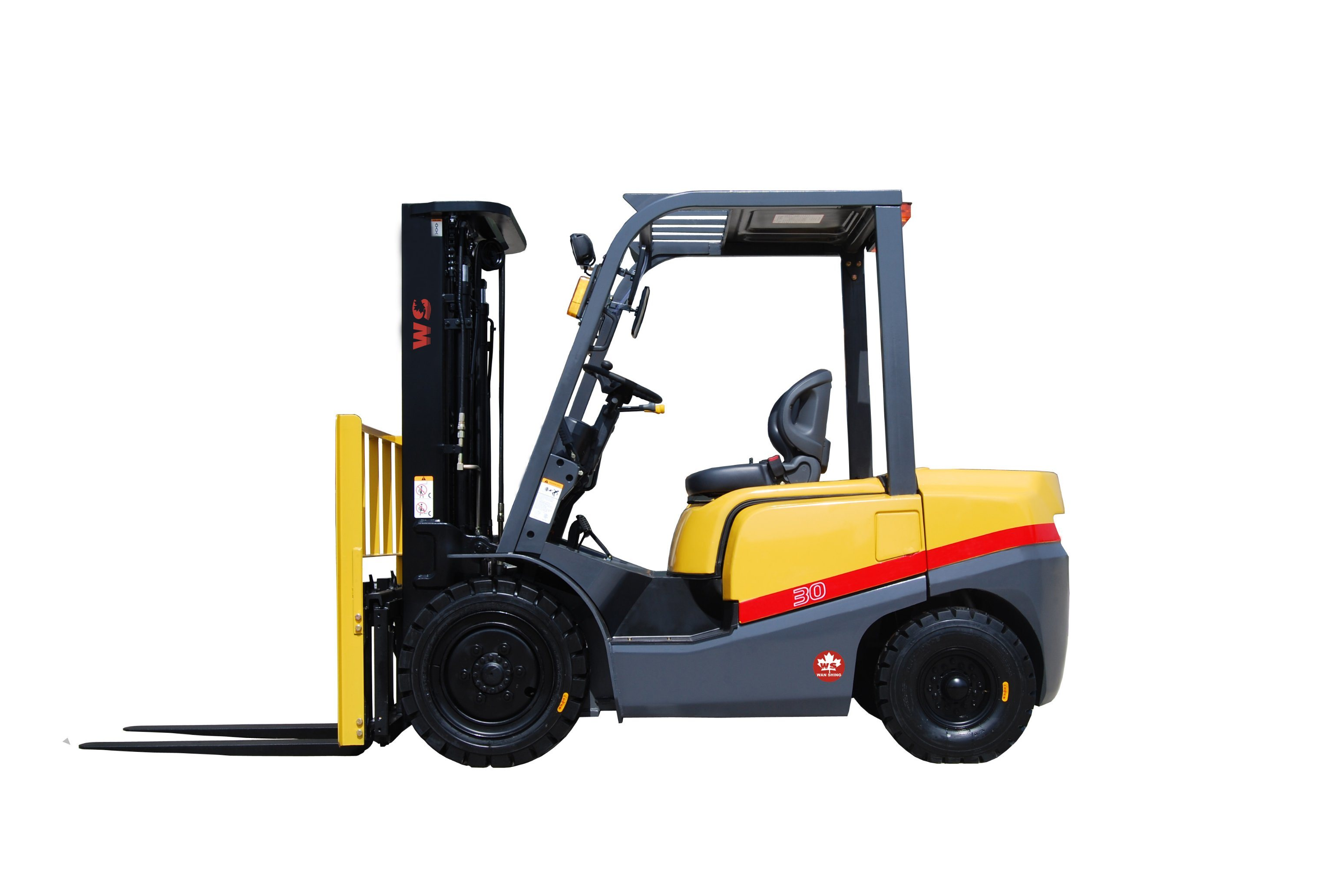 Good Quality 3 Ton Diesel Forklift Truck with Japanese Engine ...