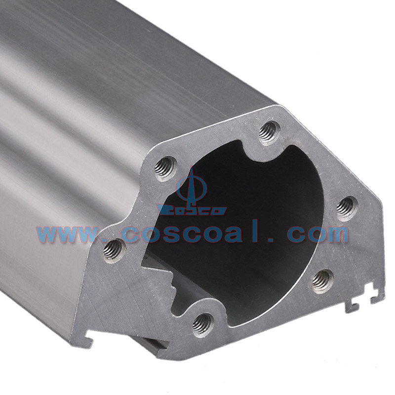 Customized Aluminum Extrusion with CNC Machining (ISO9001: 2008 certificated)