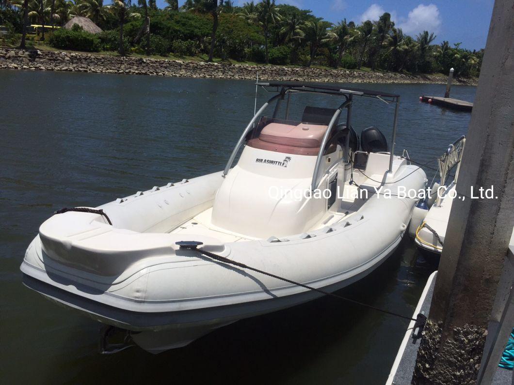 Liya 8.3m Inflatable Speed Boat Passenger Boat