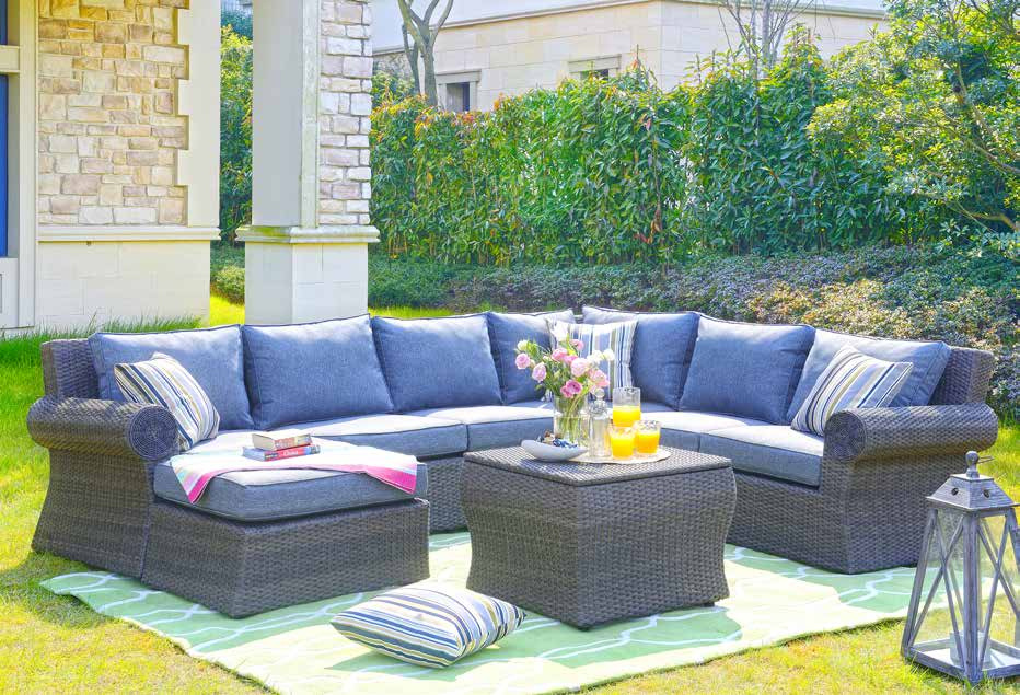 Custimized Outdoor Patio Furniture Set, Patio Furniture Couch
