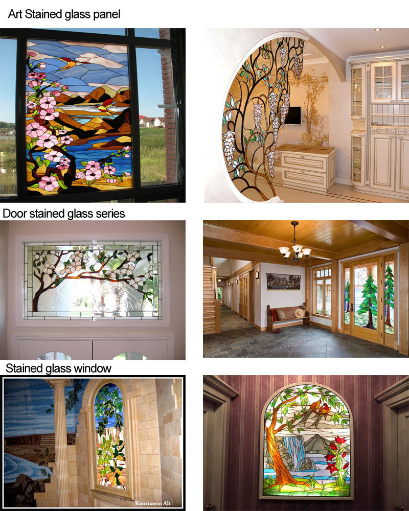 Art craft stained glass panels window 1 stained glass mosaic 2 other shapes available 3 color and size can be customized 4 exquisite and in style mosaic