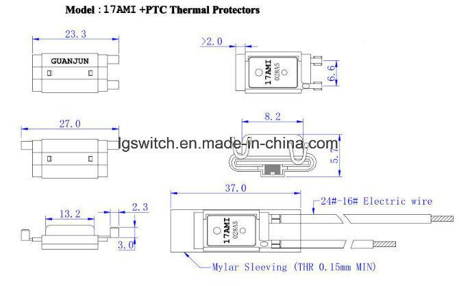 Pump 110c Manual Reset Thermal Protector