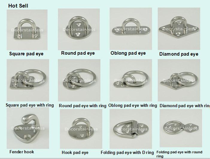 Het oog van het stootkussen van de diamant van het for Decor stainless international co ltd