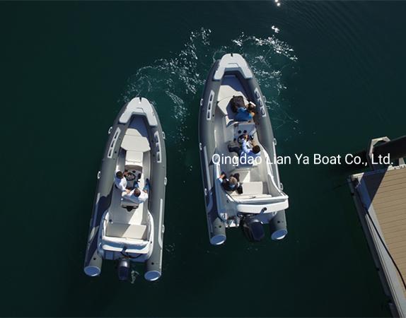 Liya Rubber Boat Rib580 Inflatable Rib Boat