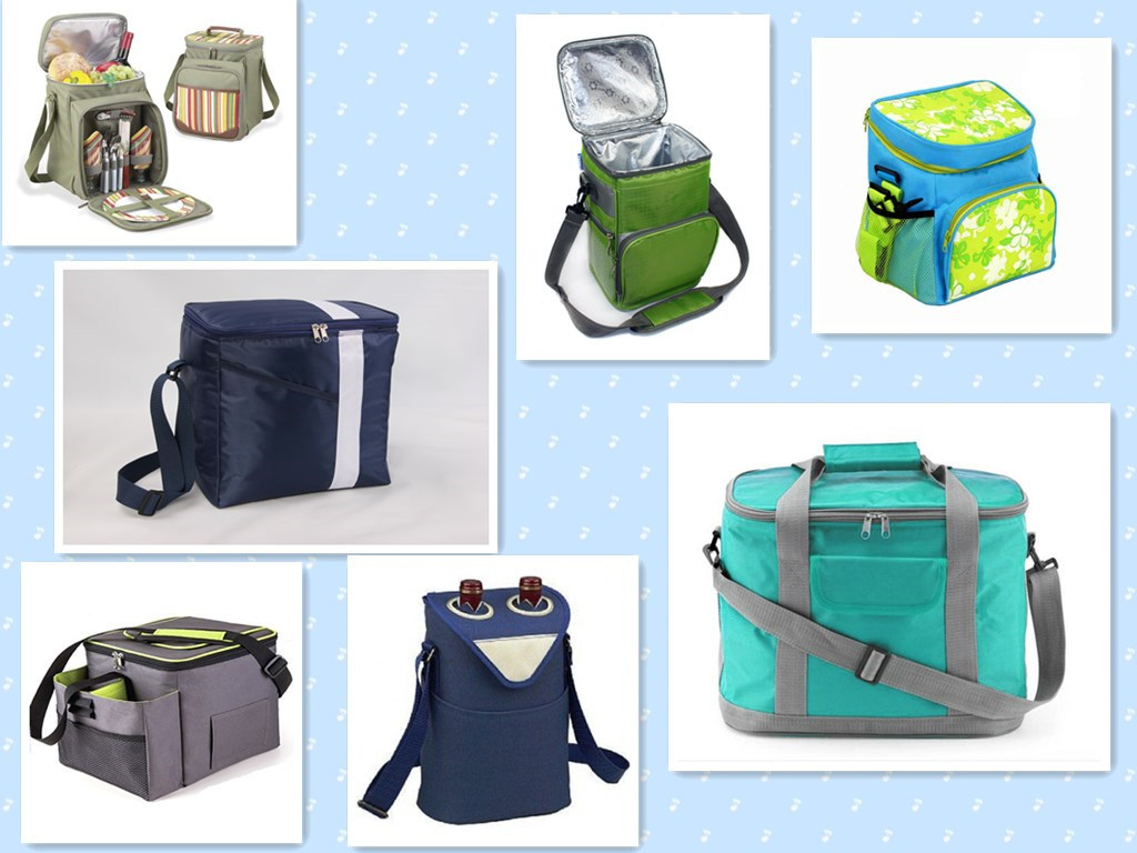 Custom Big Capacity 600d Polyester Insulated Cooler Bag