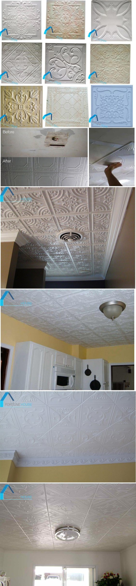 Smart expo decorative polystyrenestyrofoam ceiling tiles with low delivery time 1x20ft container with 30days dailygadgetfo Images