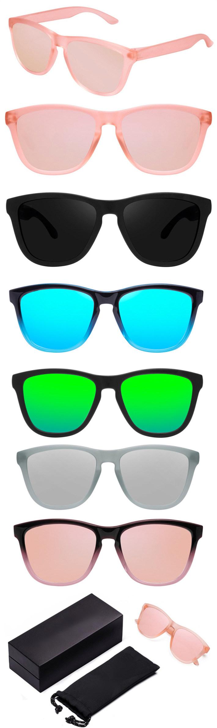 0b2e6c4af8c Custom Logo PC Frame Polarized Sunglasses 100% UV Protection - China ...