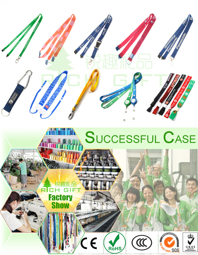 Promotional Gift Printed Neck Lanyard Custom&Polyester Printing Lanyards China Wholesale&Woven Polyester