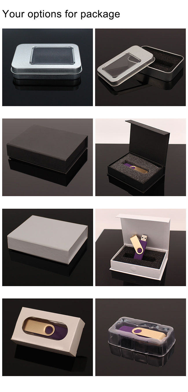 High Quality Custom 3D Logo Crystal USB