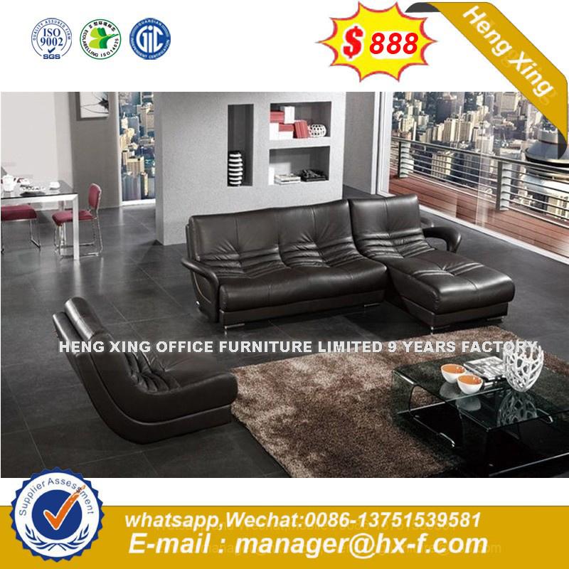 1+1+3 Patas de metal moderno de la Oficina de cuero sofá (HX-8N2168 ...