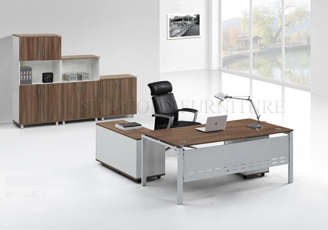 Disegno Di Ufficio : Disegno di legno moderno della mobilia della tabella del