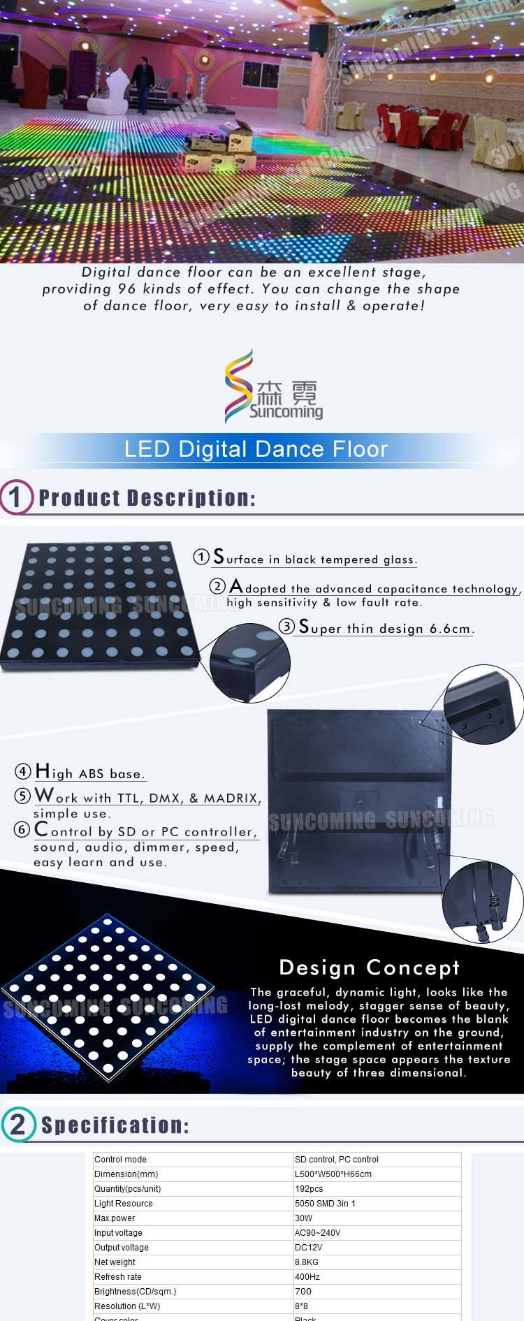 Wedding decoration dj lighting stage light led dance floor china to fix the dance floors both easy install and disassemble no need of professional workers or even hiring a labor you can do it by yourself solutioingenieria Choice Image