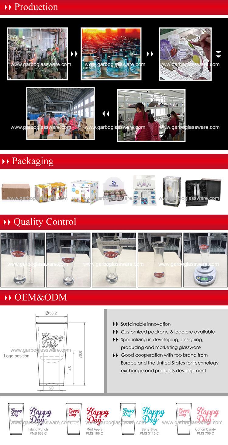 [Hot Item] 6oz Clear Kitchen Glassware Water Drinking Glass Tea Glass Cup  (GB01036406-HCS-706B)
