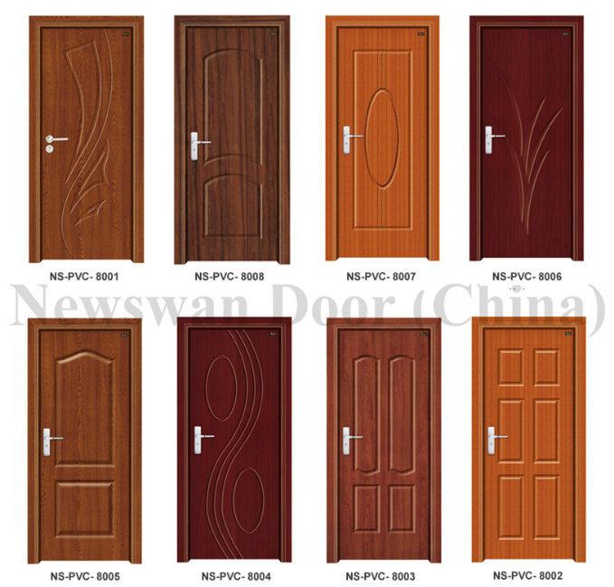 Porte int rieure de pvc prix en bois en plastique de porte for Porte interieure pvc prix