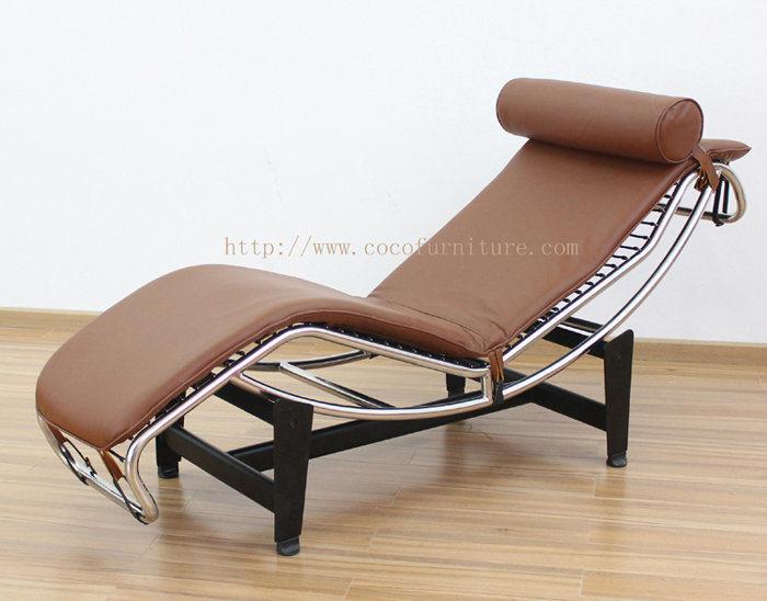 Sedia di salotto di le corbusier lc4 8034# u2013 sedia di salotto di