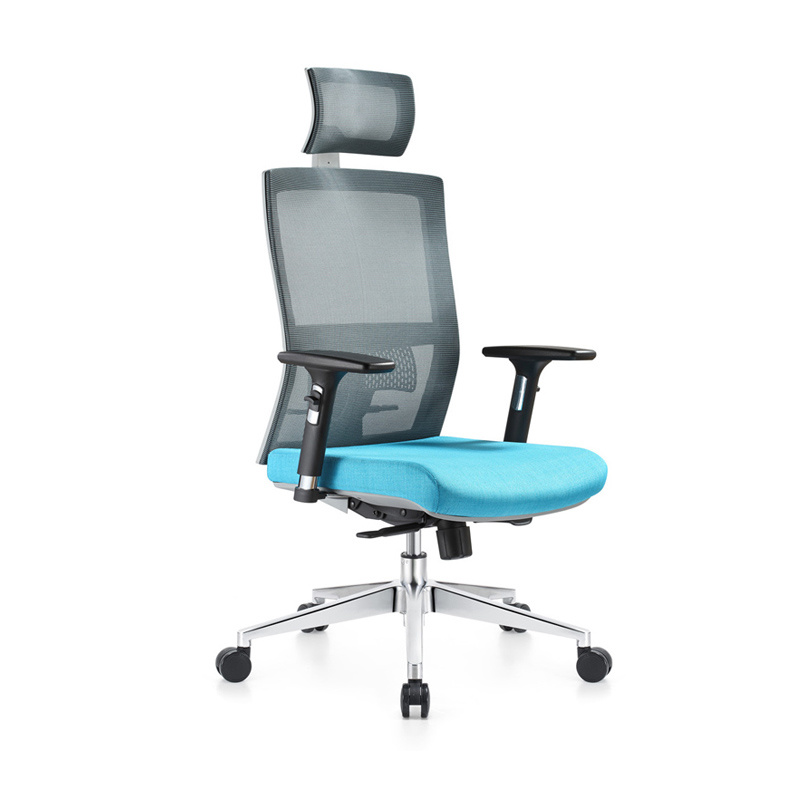 Furniture 360 Degree Rotation Middle Back Office Chair Black Us Free Shipping
