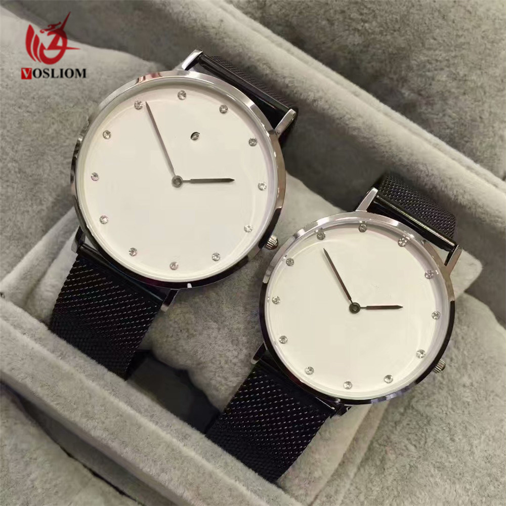 New Arrival Milanese Straps Men Ladies Custom Design Wrist Watches V985 China Custom Wrist Watches And Watch For Ladies Price Made In China Com