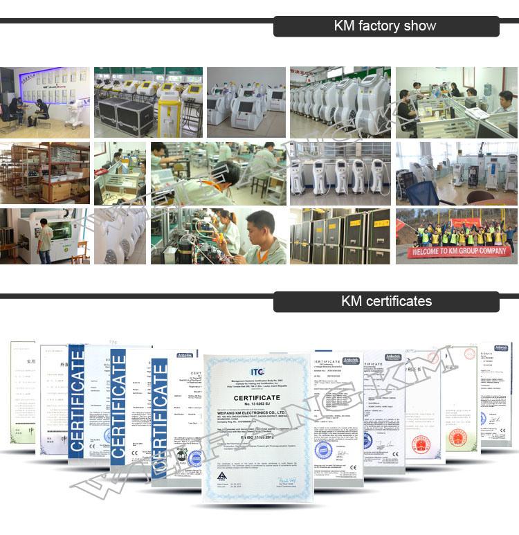 5 in 1 Multifunction Beauty Machine (IPL+Elight+RF+Cavitation+Laser Tattoo Removal) (KM-E-900C+)