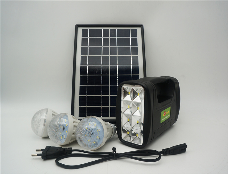 [Hot Item] Affordable Solar Home System Kit with 3PCS All in 1 Solar DIY  Solar Lamp