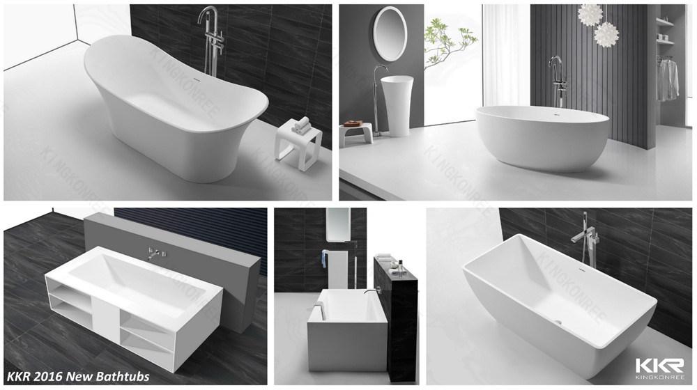Modern Square Bath Tub Freestanding Bath for Hotel Project - China ...