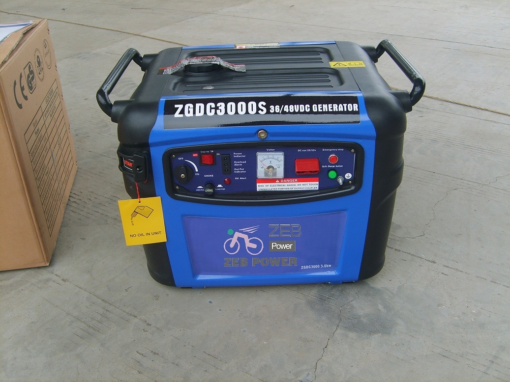 3kw Silent Type Dc Gasoline Generators Zgdc3300s China Types Of Detailed Pictures