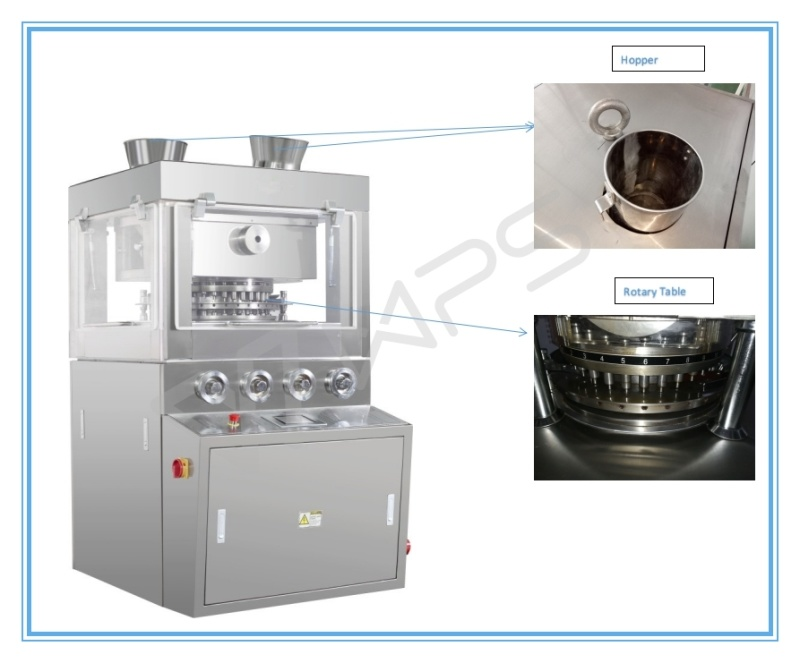 Hi Efficiency Hszp -57 Rotary Tablet Press Machine for Pharmaceutical  Company