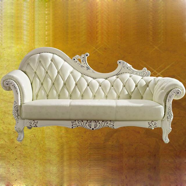 Classic chaise lounge, con verdadero cuero plena flor (98) – Classic ...