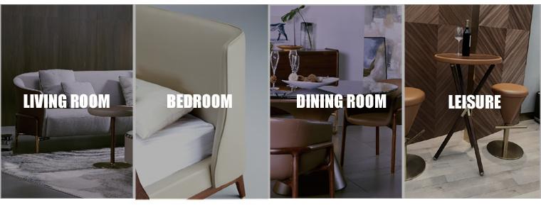 Italian Simple Style Living Room Fabric Sofa (YS082A1)