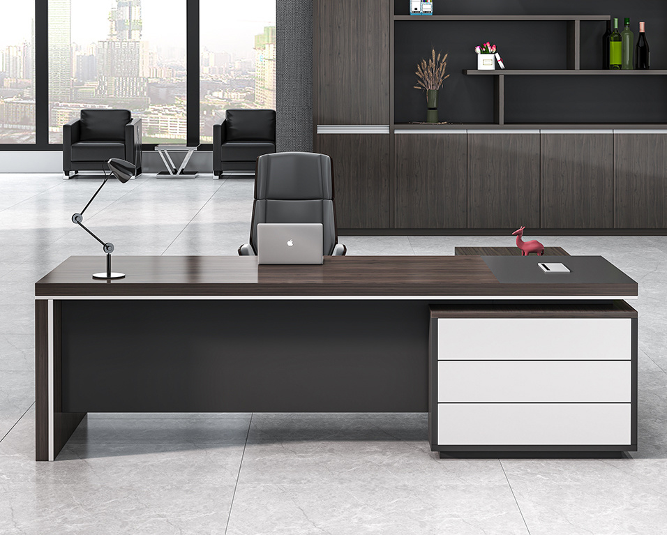 High End Office Table Luxury Boss, Modern Executive Office Furniture Toronto